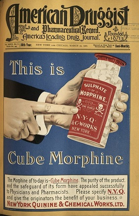 Morphine advertisement - headstuff.org