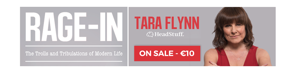 Tara Flynn Rage-In Book Sale