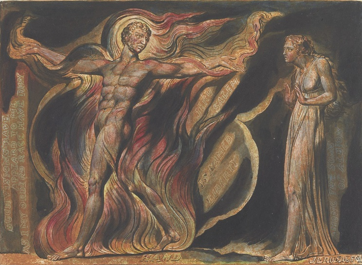Scene from Jerusalem by William Blake - headstuff.org