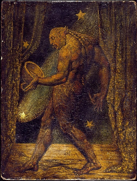 """The Ghost of a Flea"" by William Blake - headstuff.org"