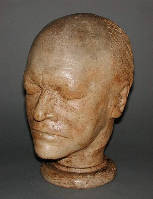 Life mask of William Blake - headstuff.org