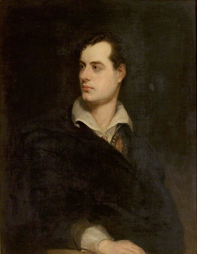Lord Byron, by Thomas Griffiths-Wainewright - headstuff.org