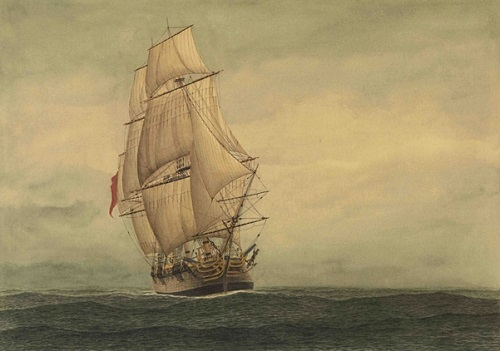 Lady Penrhyn, a convict ship - headstuff.org