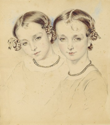 The Cutmear Sisters by Thomas Griffiths-Wainewright - headstuff.org