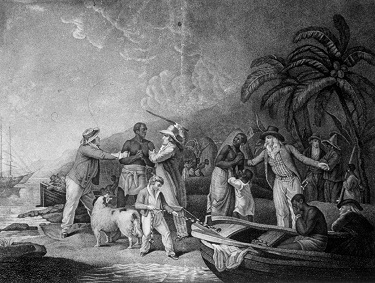 Illustration of slavery - headstuff.org