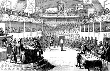 The trial of King Louis XVI - headstuff.org