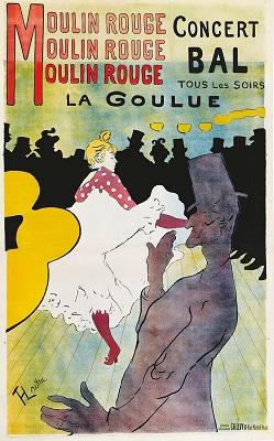 Poster by Henri de Toulouse-Lautrec - headstuff.org