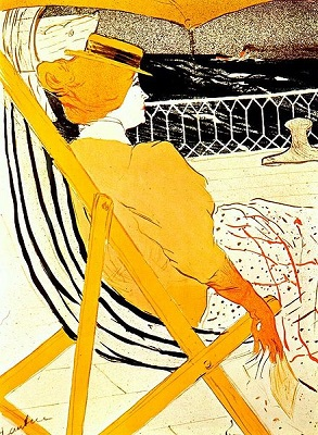 The Passenger in Cabin 54 by Henri de Toulouse-Lautrec - headstuff.org