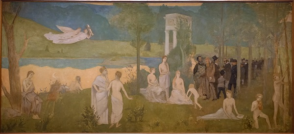 The Sacred Grove by Henri de Toulouse-Lautrec - headstuff.org