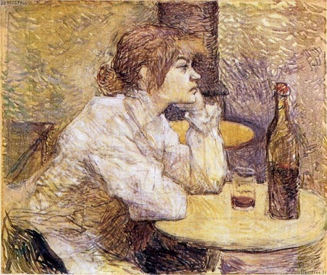 The Hangover by Henri de Toulouse-Lautrec - headstuff.org