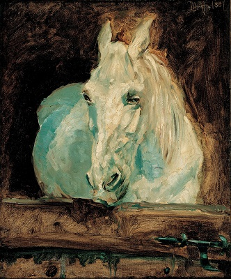 Painting of a horse by Henri de Toulouse-Lautrec - headstuff.org