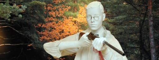 Statue of Hans Fallada - headstuff.org
