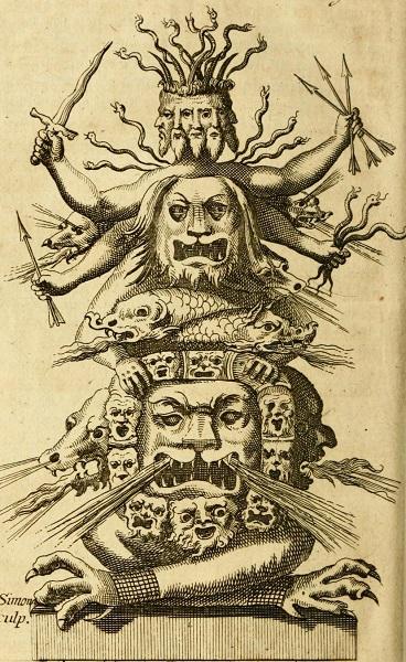 George Psalmanazar's invented Formosan demon statue - headstuff.org