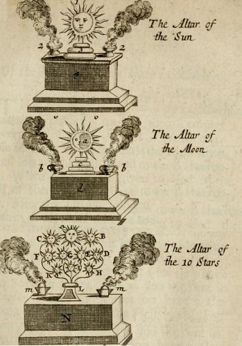 George Psalmanazar's fake altars - headstuff.org