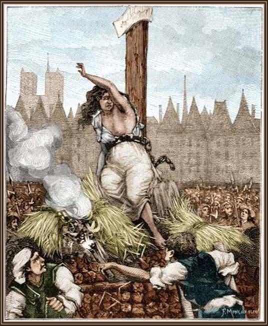 The execution of Catherine Monvoisin - headstuff.org