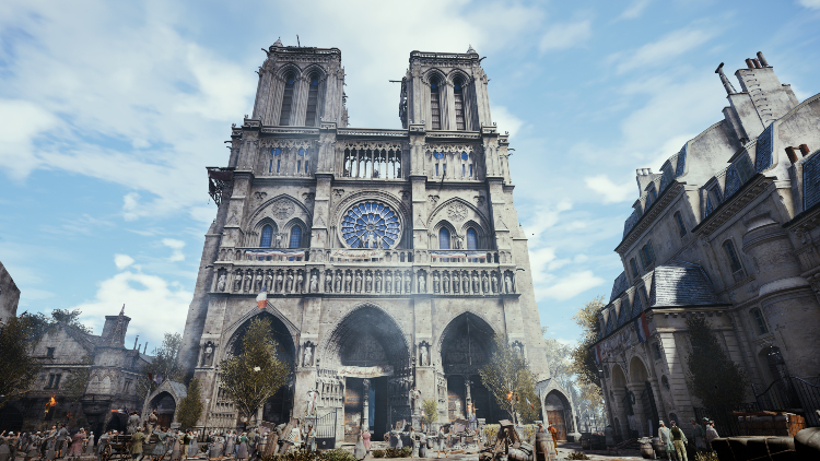 Notre-Dame in Assassins Creed Unity