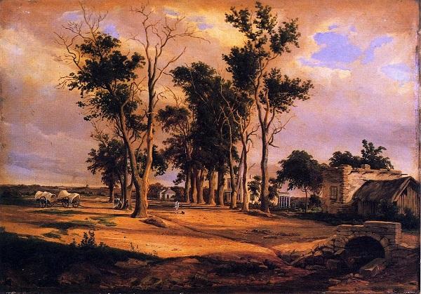 Alameda by Hermann Lungkwitz - headstuff.org