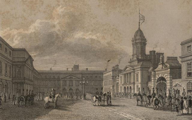 Dublin Castle, by Alphonse Dousseau - headstuff.org