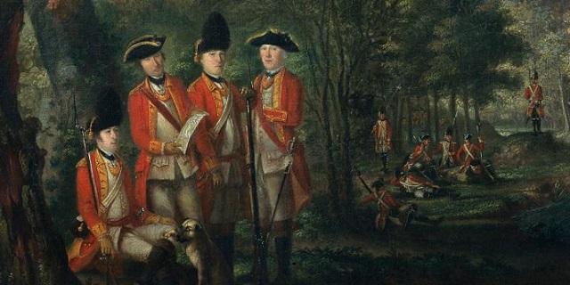 18th century British soldiers - headstuff.org