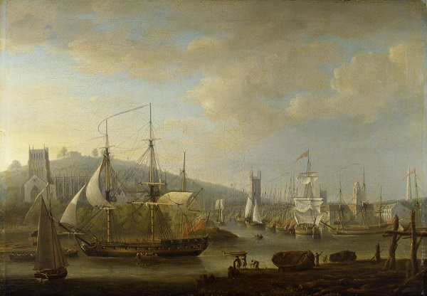 Bristol Harbour in the 18th century - headstuff.org