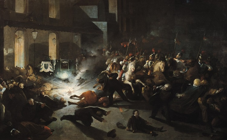 The attempted assassination of Napoleon III - headstuff.org