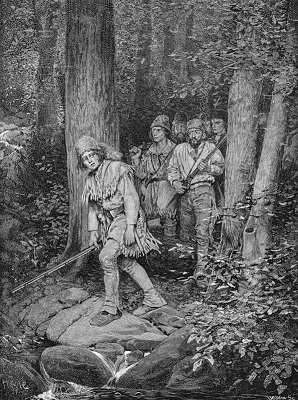 """Joseph Brown Leading His Company to Nicojack"", by Howard Pyle - headstuff.org"