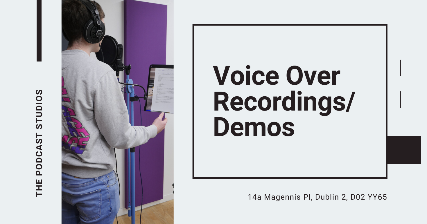 Voice Over Recording Demo Dublin