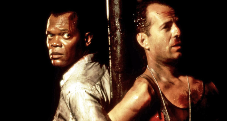 Samuel L. Jackson and Bruce Willis in Die Hard With A Vengeance - Headstuff.org