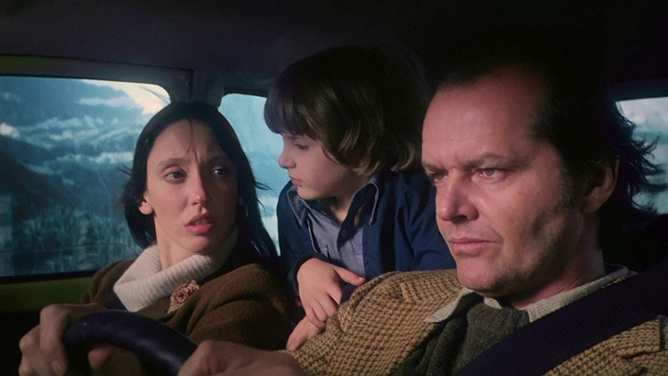 Jack Nicholson, Shelley Duvall in The Shining - headstuff.org