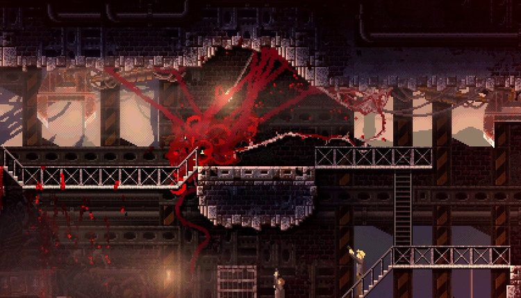 Game Review Carrion Is 2020 S Grossest Goriest Power Fantasy