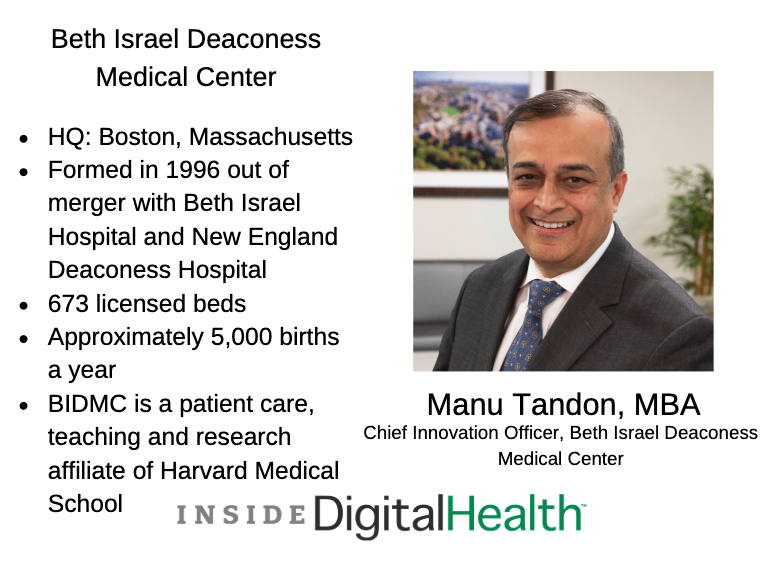 Exec Voices Manu Tandon Mba Chief Information Officer At Bidmc