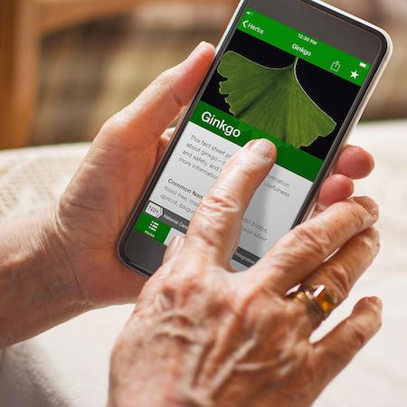 The mHealth App Cutting Through the Herbal Supplement Hype
