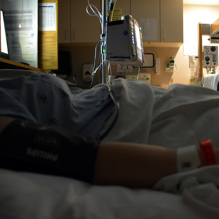 Sensors Can Adequately Monitor Low-Risk Hospital Patients at Night