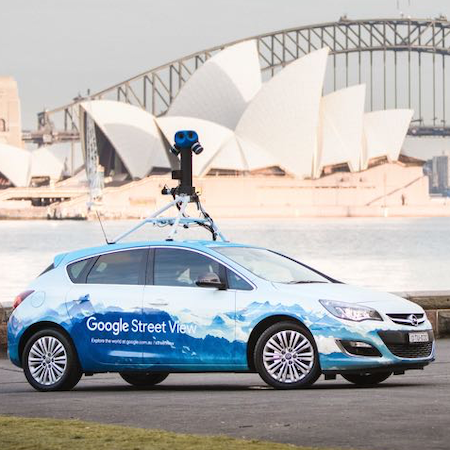 Google Street View Cars Take on Public Health by Assessing Air Quality in Amsterdam
