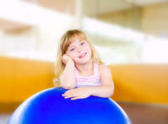 Girl-exercise-ball