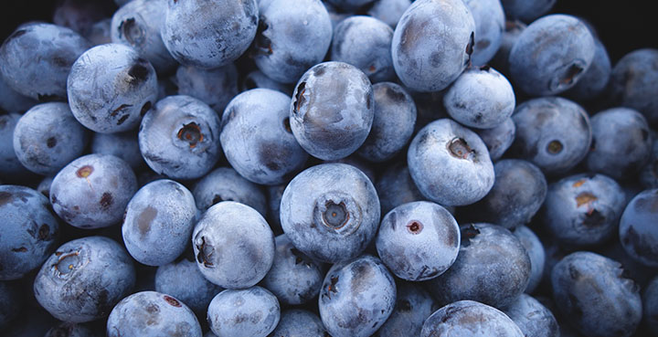 blueberries are good for heart