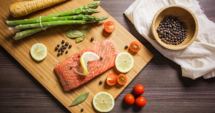 salmon is one of heart healthy foods