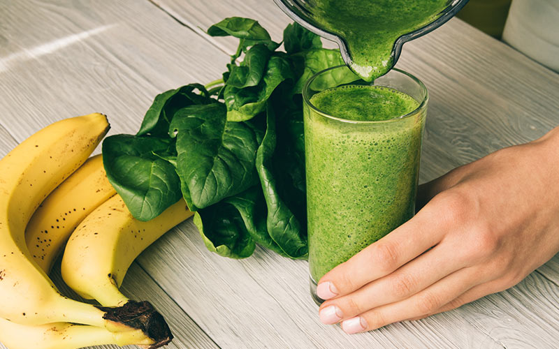 weight loss smoothies with spinach