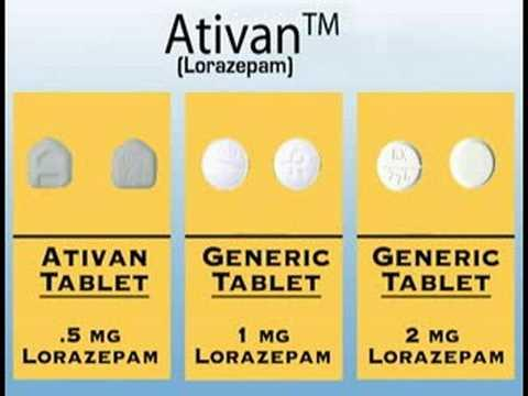 ativan oral dose at one time