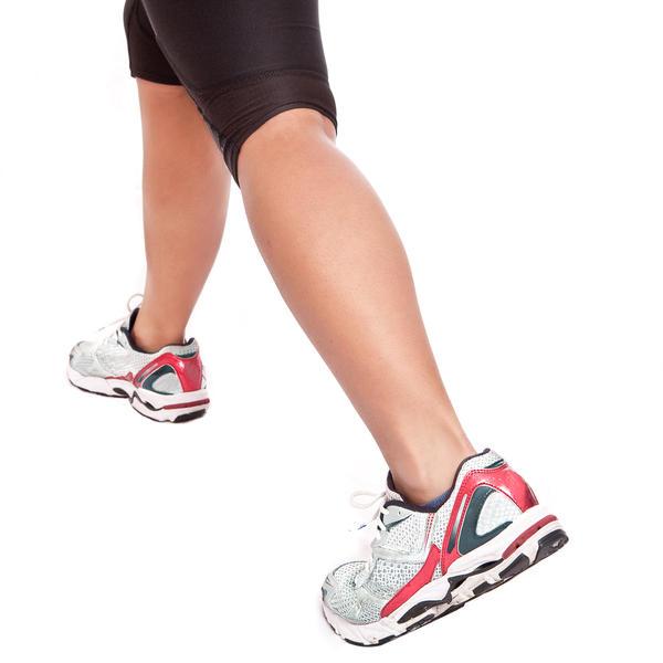 Female Athlete Leg Muscles