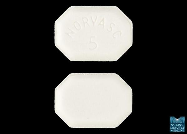 amlodipine besylate (Norvasc) - drug.