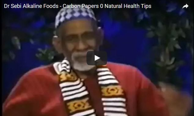 Dr Sebi Alkaline Foods – Cured AIDS, Cancer & More Proven in