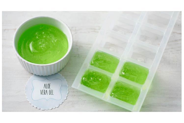 Aloe Vera Sunburn Remedy Icecubes
