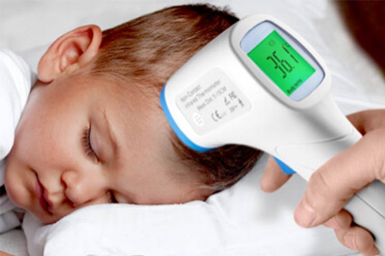 Infrared Thermometers are a must-have for parents