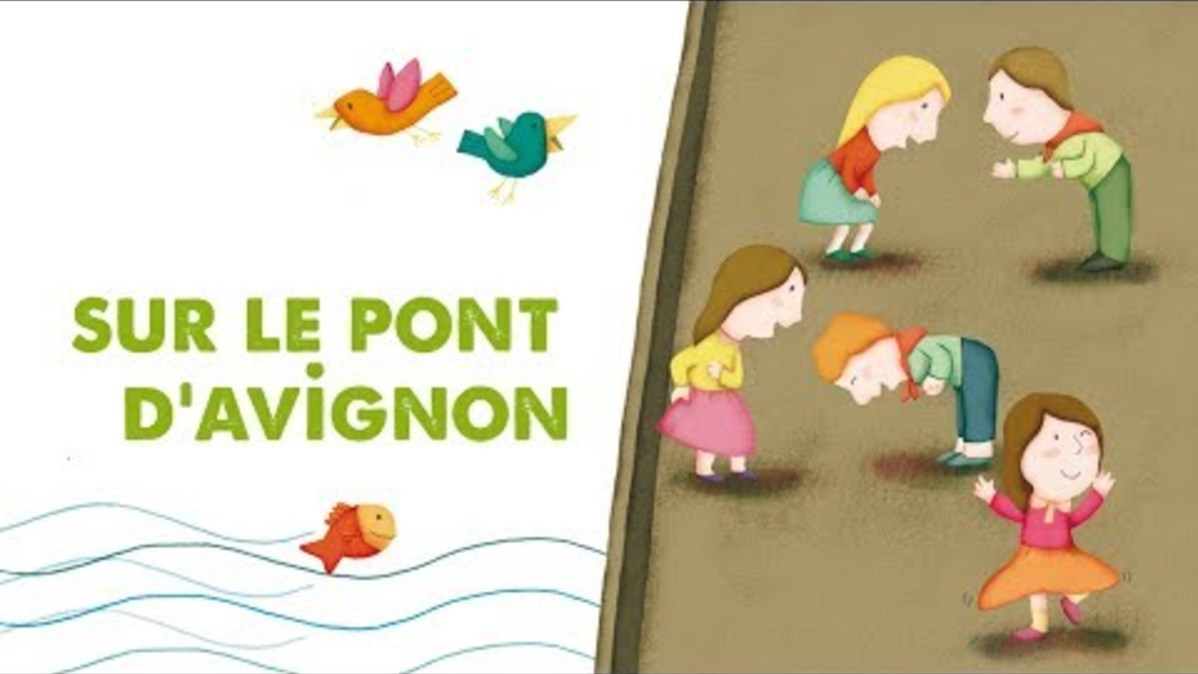 Song Sur Le Pont D Avignon Video Dance Music Ecoute