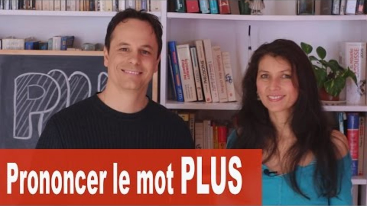 How to pronounce and use the word Plus? - Video - French