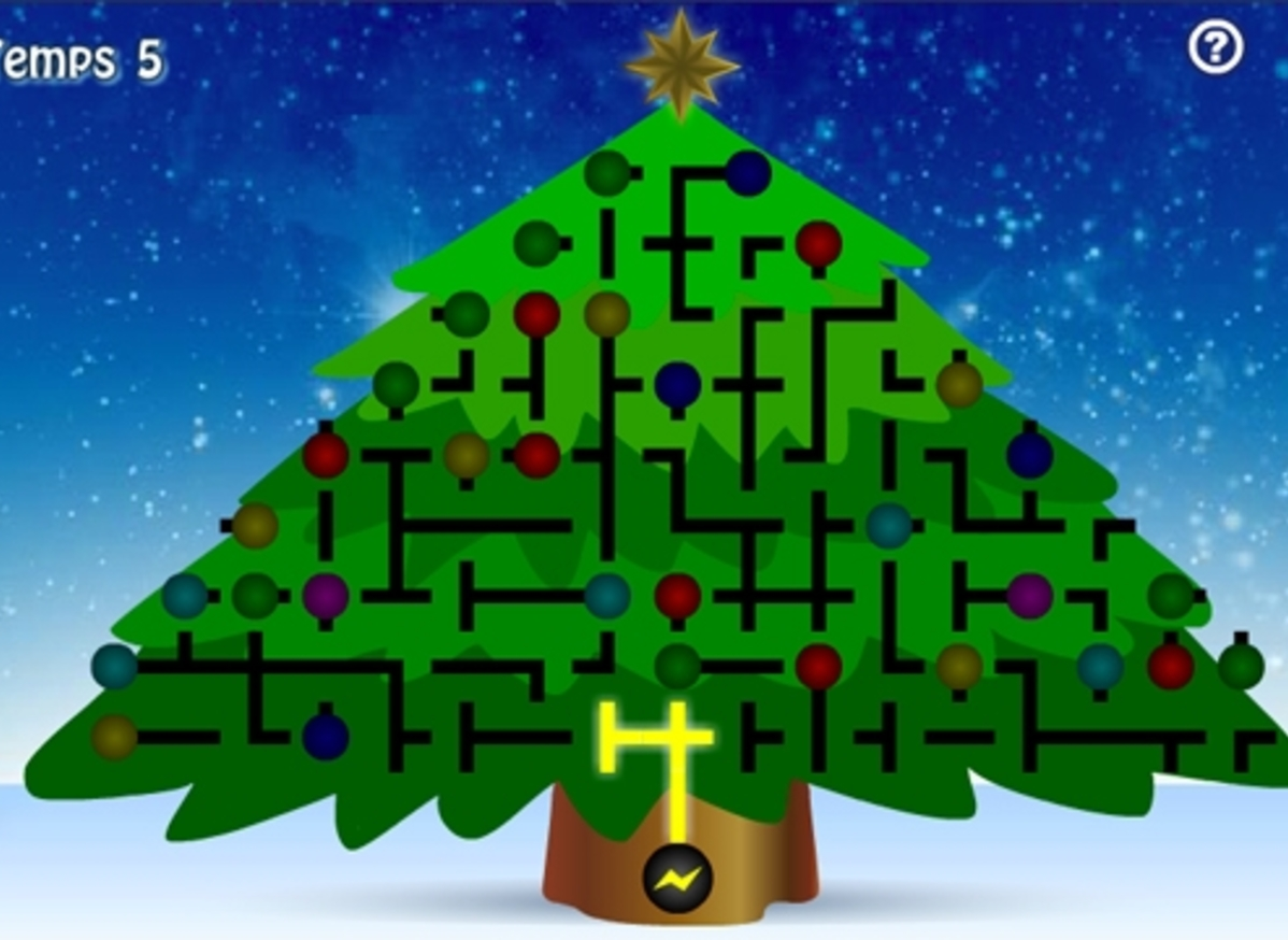 Illuminated A Christmas Tree Game Sciences And Technologies