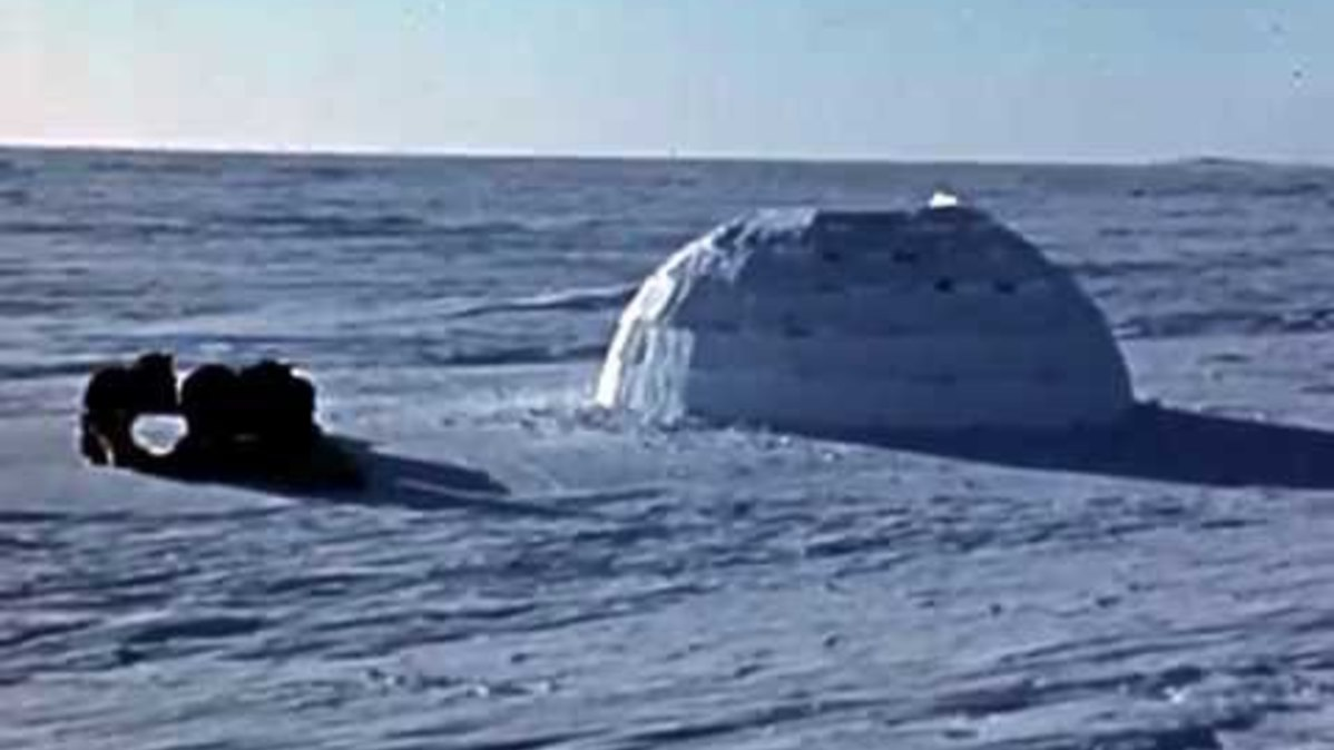 How to build your igloo - Video - Écoute (FLS), Sciences and