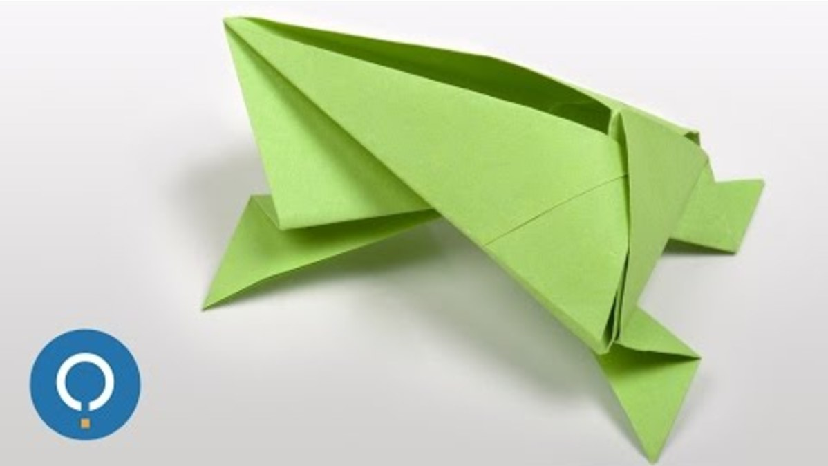 Origami Frog Base - YouTube | 674x1198