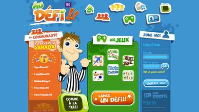 Site web - Au défi!
